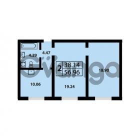 Продается квартира 2-ком 56 м² Ленинский проспект 69, метро Проспект Ветеранов