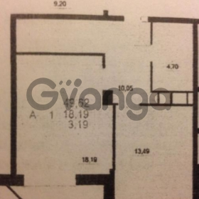 Сдается в аренду квартира 1-ком 50 м² Радиоцентра N5,д.16