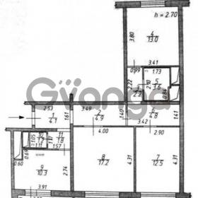 Продается квартира 3-ком 76 м² Летная,д.8