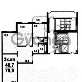 Продается квартира 3-ком 78 м² Кожедуба,д.10