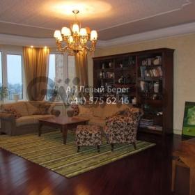 Сдается в аренду квартира 3-ком 130 м² ул. Барбюса Анри, 5 в, метро Дворец Украина