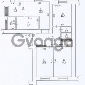 Продается квартира 3-ком 102 м² ул. Привокзальная, 8