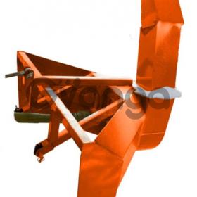 Снегоочиститель (снегоотбрасыватель) роторный для минитрактора Уралец Н14
