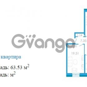 Продается квартира 2-ком 63.53 м² Переведенская улица 1, метро Купчино