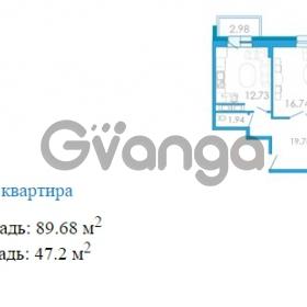 Продается квартира 3-ком 89.68 м² Переведенская улица 1, метро Купчино