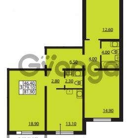 Продается квартира 3-ком 79.1 м² Южное шоссе 110, метро Международная