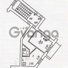 Продается квартира 1-ком 33 м² Московская ул.
