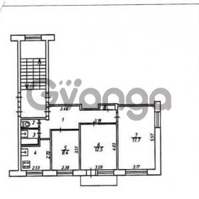 Продается квартира 3-ком 58 м² Пролетарская ул.