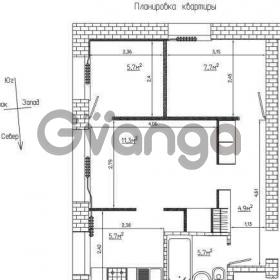 Продается квартира 3-ком 42 м² Болотникова ул.