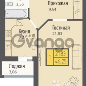 Продается квартира 1-ком 47 м² Тургенева