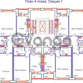Продается квартира 2-ком 57 м² Аксакова