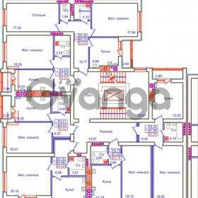 Продается квартира 1-ком 43 м² Аксакова