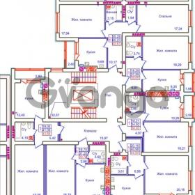 Продается квартира 1-ком 39 м² Аксакова