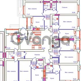 Продается квартира 1-ком 38 м² Аксакова