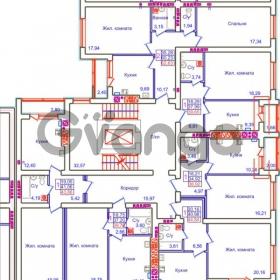 Продается квартира 1-ком 36 м² Аксакова