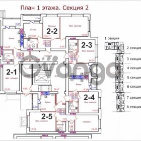Продается квартира 2-ком 56 м² Коммунистическая