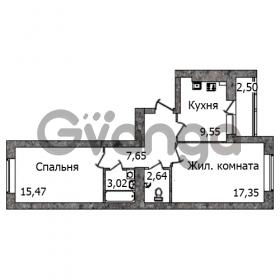 Продается квартира 2-ком 58 м² Кутаисская