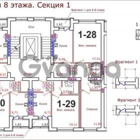 Продается квартира 2-ком 53 м² Коммунистическая