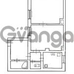Продается квартира 2-ком 44 м² Железнодорожная