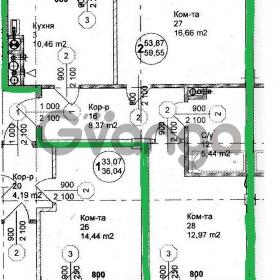 Продается квартира 2-ком 58 м² Тургенева