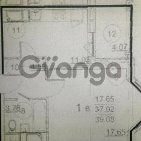 Продается квартира 1-ком 39 м² Солнечная,д.17а