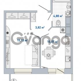 Продается квартира 1-ком 36.02 м² Кушелевская дорога 5к 5, метро Лесная