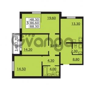 Продается квартира 3-ком 86.6 м² Южное шоссе 110, метро Международная