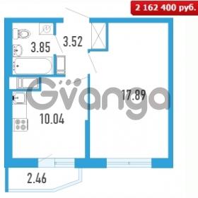 Продается квартира 1-ком 36.04 м² Петровский бульвар 5, метро Девяткино