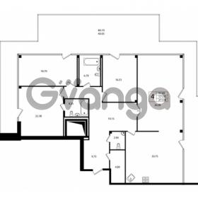 Продается квартира 4-ком 171.93 м² Ушаковская набережная 3, метро Черная речка