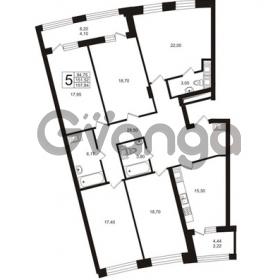 Продается квартира 5-ком 151.52 м² Ушаковская набережная 3, метро Черная речка
