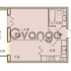 Продается квартира 1-ком 34.54 м² Малый проспект В.О. 52, метро Василеостровская