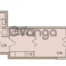 Продается квартира 1-ком 23.62 м² Малый проспект В.О. 52, метро Василеостровская