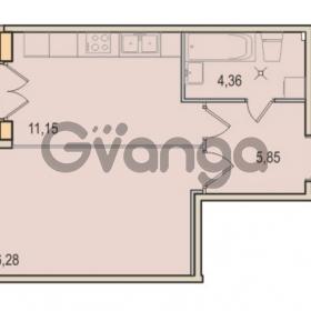 Продается квартира 1-ком 37.64 м² Малый проспект В.О. 52, метро Василеостровская