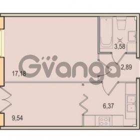 Продается квартира 1-ком 39.56 м² Малый проспект В.О. 52, метро Василеостровская