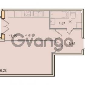 Продается квартира 1-ком 37.85 м² Малый проспект В.О. 52, метро Василеостровская