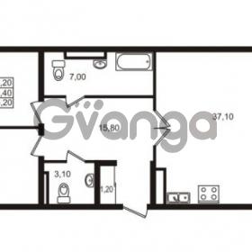 Продается квартира 2-ком 95.4 м² Приморский проспект 44, метро Старая деревня