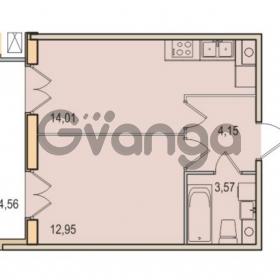 Продается квартира 1-ком 34.68 м² Малый проспект В.О. 52, метро Василеостровская