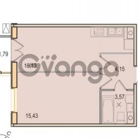 Продается квартира 1-ком 39.28 м² Малый проспект В.О. 52, метро Василеостровская