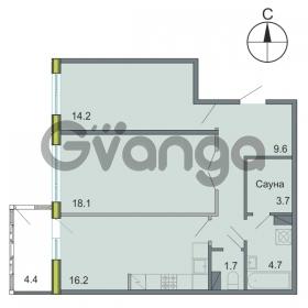 Продается квартира 2-ком 68.2 м² Республиканская 22, метро Новочеркасская