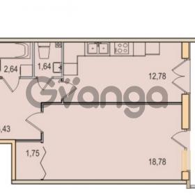 Продается квартира 1-ком 44.02 м² Малый проспект В.О. 52, метро Василеостровская