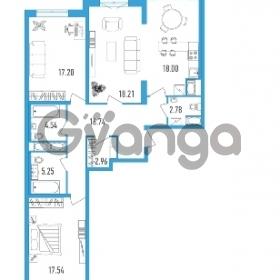 Продается квартира 3-ком 106.26 м² проспект Тореза 118, метро Озерки