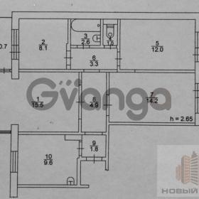 Продается квартира 4-ком 72 м² Ленинградская, улица, 5