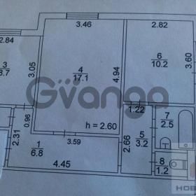 Продается квартира 2-ком 53 м² Горького, улица, 147
