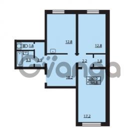 Продается квартира 2-ком 64.8 м² Муринская дорога 7, метро Гражданский проспект