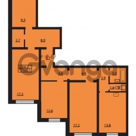 Продается квартира 4-ком 100.1 м² Муринская дорога 7, метро Гражданский проспект