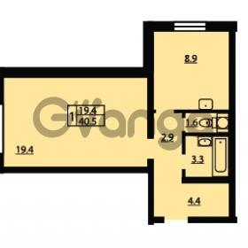 Продается квартира 1-ком 40.5 м² Муринская дорога 7, метро Гражданский проспект