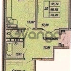 Продается квартира 2-ком 73 м² Дальняя улица, 106