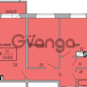 Продается квартира 2-ком 56 м² Московская, 125 литер 1