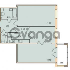 Продается квартира 2-ком 72.98 м² Малый проспект В.О. 52, метро Василеостровская