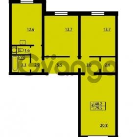 Продается квартира 3-ком 79.5 м² Муринская дорога 7, метро Гражданский проспект